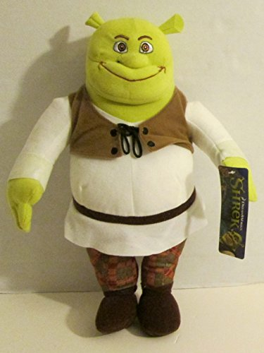 ToyFactory Shrek Plush Toy (14 Inch) 2017]()