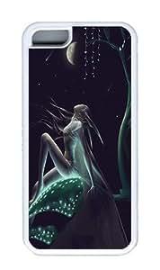IMARTCASE iPhone 5C Case, Night Fairy Case for Apple iPhone 5C TPU - White