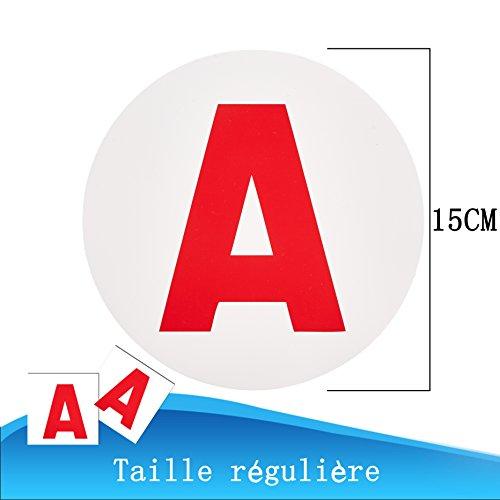 A Aufkleber Für Fahranfänger In Frankreich Magnetisch Und