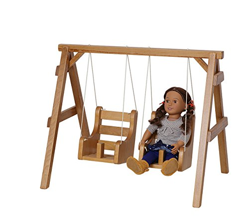 Adorable Doll Swings - Perfect for Your Little GirlWhite American Made by Amish