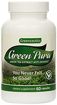 Green Tea Extract Diet Pill for Weight Loss, Fat Burn, Increased Metabolism, & Antioxidant