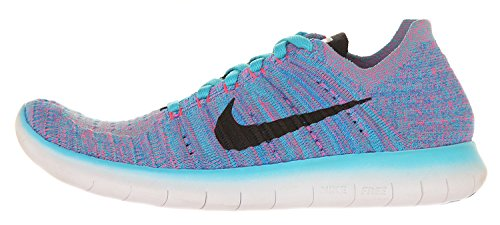 Gamma Flyknit Nike Corsa Bl Donna pnk da Blst Scarpe pht Blue Blu Blk Free RN Wmns OYnpRnWz