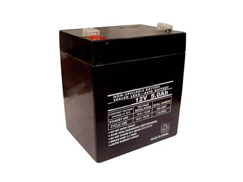 Replacement for WKA12-5F - 12 volt 5 ah battery by Werker