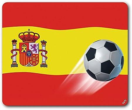 1art1 Fútbol - Bandera De España Alfombrilla para Ratón (23 x 19cm): Amazon.es: Hogar