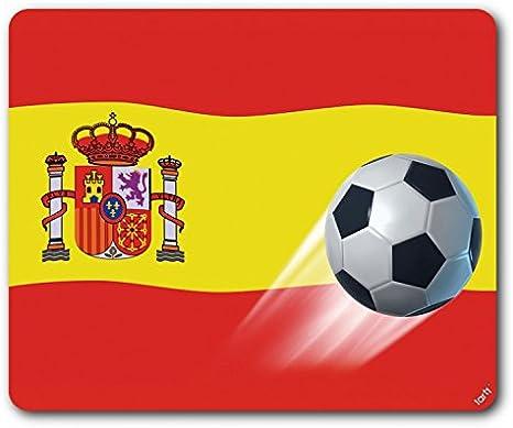 1art1 Fútbol - Bandera De España Alfombrilla para Ratón (23 x 19cm ...