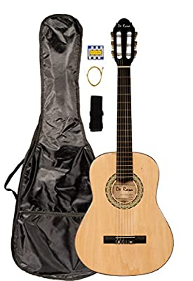 36 INCH DeRosa DKF36 Kid's NATURAL 3/4 Classical Nylon String Guitar great for beginners