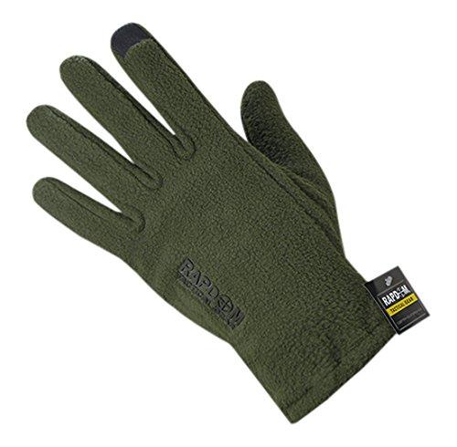 RAPDOM Tactical Polar Fleece Gloves, Olive Drab, XX-Large by RAPDOM