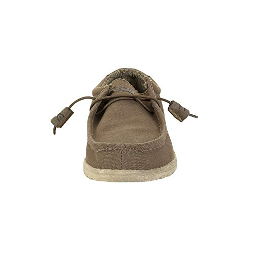 Hej Dude-mens Wally L Skor Olive