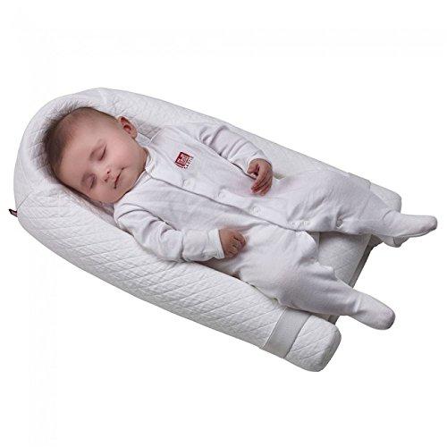 Cocoonababy - Posicionador ergonómico para dormir (0-6 meses), color blanco: Amazon.es: Bebé