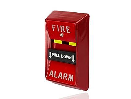 Manual de alarma contra incendios desplegable estación, no ...