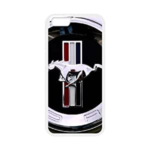 iPhone 6 4.7 Inch Cell Phone Case White Mustang as a gift P4812759