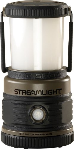 "Streamlight 44931 Siege Compact, Rugged 7.25"" Hand Lantern 540 Lumen Uses 3D Cell Alkaline Batteries - 540 Lumens"