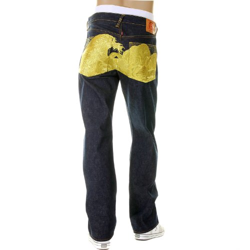 Red Monkey Jeans (RMC JEANS The Dream of the Fishermans Wife Gold Limited Edition jeans)