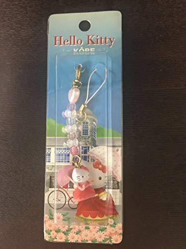 ご当地 ハローキティ ストラップ キャラクター お土産 グッズ 神戸 限定 異人館 キティ ピンク スマホ チャーム サンリオ