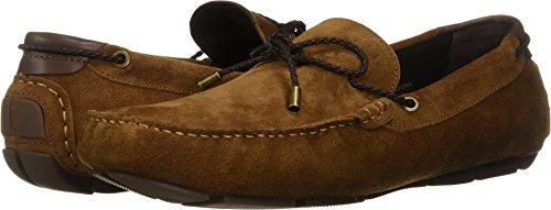 Kenneth Cole New York Men's Engle Slip ON Loafer, Rust, 13 M US
