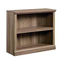 Sauder Select 2 Shelf Bookcase in Salt Oak