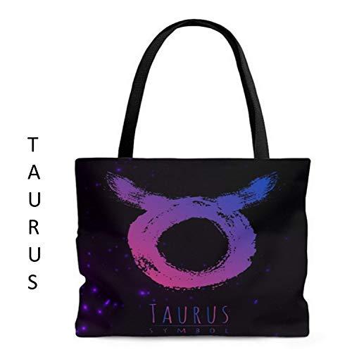 VioletsAreRedGifts Taurus Horoscope Tote/Beach Bag - Great Birthday Gift