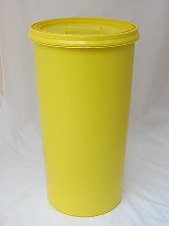 Gelber Sack   Tonne Gelb Mit Gelbem Deckel   Müllsackständer   Müllständer    Mülleimer   Wertstoffständer