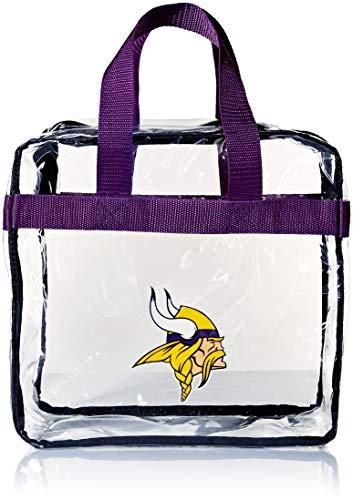 (Minnesota Vikings Clear Messenger Bag )