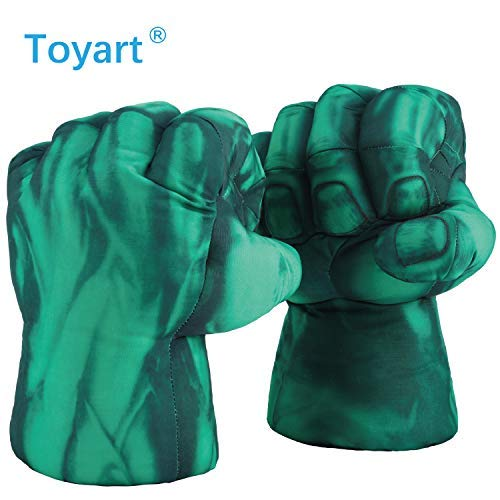 Incredible Hulk Costume For Adults - Toyart Hulk Hands for Kids of