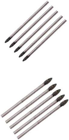 Generic 三角ヘッド 超硬壁 セラミック タイル 大理石 ガラスドリルビット 3mm 4mm 大工道具 用品
