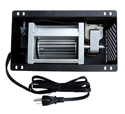 Hongso Speed Variable S31105 Blower 110V ~ 120V for GHP Group, Monessen/Majestic (MHSC Brands), Majestic Dutchwest Windsor, CFM US Century Plate Steel Freestanding Wood Stove Fireplace