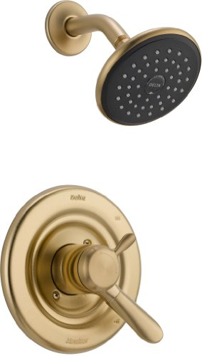 T17238 CZ Lahara Monitor Shower Champagne