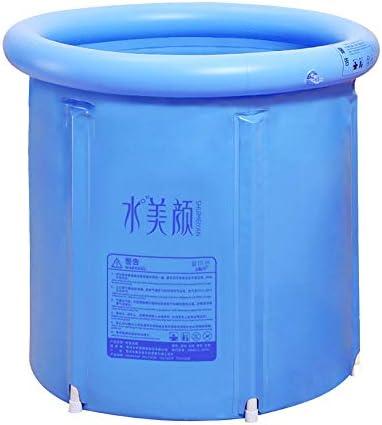 Youdepot Inflatable Portable Plastic Bathtub,PVC Bath Tub Portable Soaking Tub Inflatable Spa For Adult Bathroom