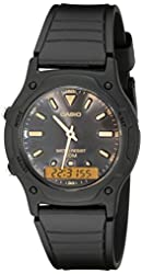 Casio Men's AW49HE-1AV Ana-Digi Dual Time Watch