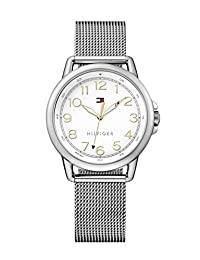 Tommy Hilfiger Women's 1781658 Casey Analog Display Japanese Quartz Silver Watch