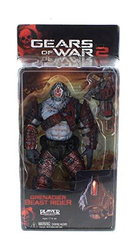 Gear of War 2: Series 5 Locust Grenadier Beast Rider Action Figure