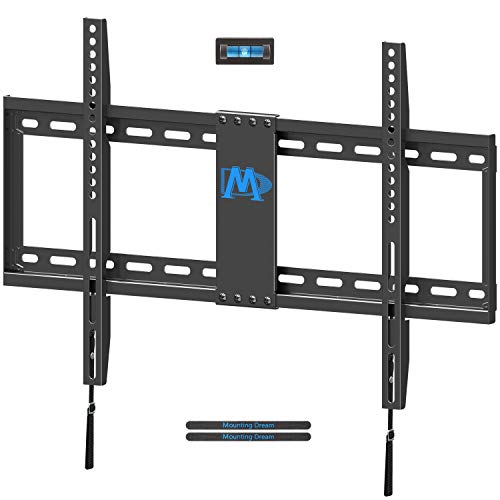 Mounting Dream TV Mount Fixed for Most 42-70 Inch Flat Screen LED, LCD and Plasma TV, TV Wall Mount Bracket Low Profile - Max VESA 600 x 400mm - 132 lbs Capacity