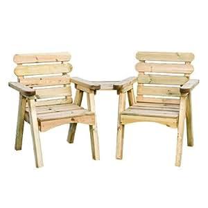 zest4leisure Abbey compañero asiento–madera
