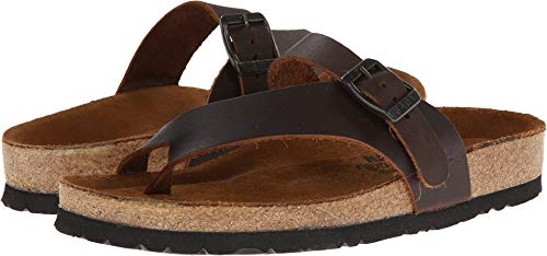 - Naot Women's Tahoe Toe Ring Sandal,Buffalo Leather,41 EU/9.5-10 M US