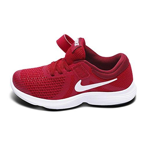 Nike Unisex-Kinder Kleinkinder Sneaker Revolution 4 Rot (Rot)