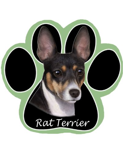 Rat Terrier Dog Non Slip Paw Shaped Mouse ()