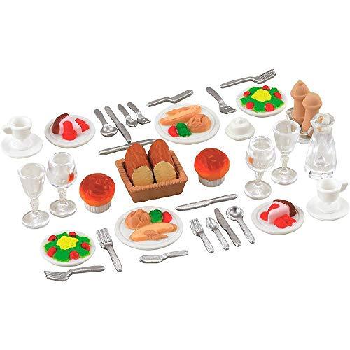 Conjunto Jantar para Dois Sylvanian Families