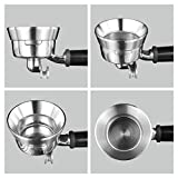 58mm Espresso Dosing Funnel, MATOW Stainless Steel