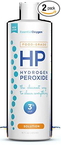 Amazoncom Essential Oxygen Food Grade Hydrogen Peroxide 16 Ounce