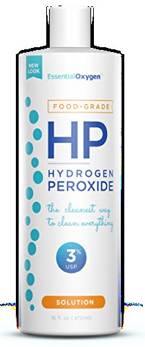 Food Grade Hydrogen Peroxide 3 Percent Cleaner, 16 Fluid Ounce