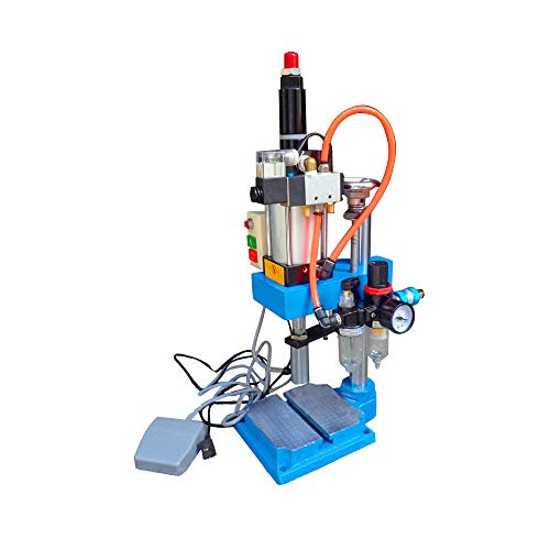 Compressed Air Efficiency - Pneumatic Punch Machine,vinmax 110V Cylinder Stroke Pneumatic Press Punch Machine