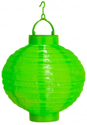 Best Season Star 30 X 20Cm Led-Solar-Lampion With Solar Panel And Rechargeable Battery - Green