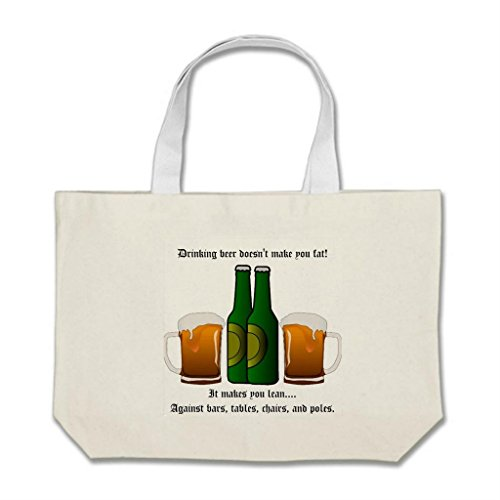 Famous Quote Beer (Umilia Customizable Jumbo Totes Party Hard Quote Famous Beer)