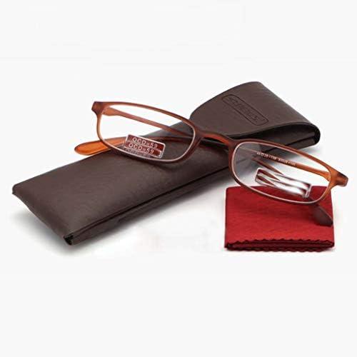 軽量老眼鏡,抗疲労 柔軟です(メモリ プラスチック) 読者 樹脂レンズ TR フレーム-A +3.0