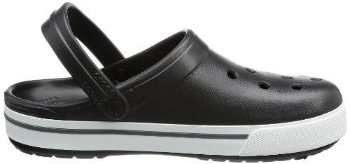 Crocband Charcoal Black Adults' II Black 5 Clogs Crocs Unisex qnxwZUzAAS
