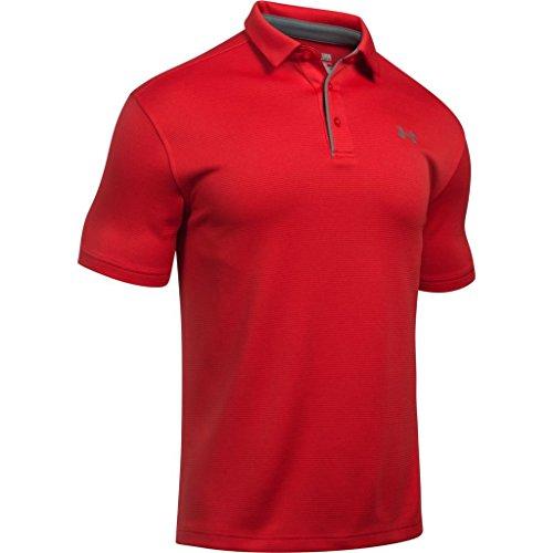 Polo Tech para Hombre  - Under Armour, 1290140-600, Rojo, Grande
