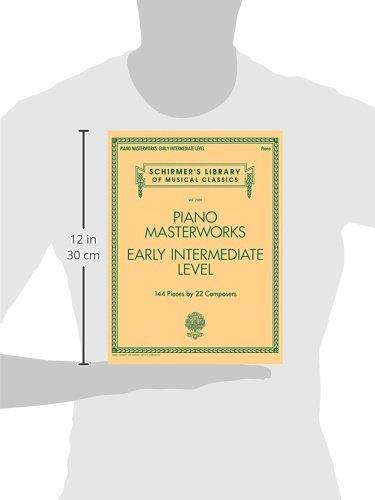 Piano Masterworks: Early Intermediate Level - Schirmer's