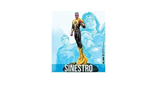 Knight Models DC Universe Batman Miniature Game: Sinestro Figura por 35 mm: Amazon.es: Juguetes y juegos