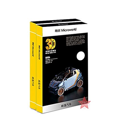 Amazon.com: Microworld Kits de metal Rompecabezas 3d Smart ...