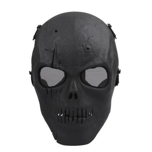Full-Face Mask Skull Ghost Airsoft Gear Tactical War Game Paintball Protection